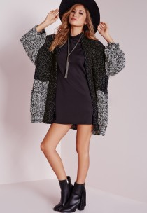 dress and cardigan - missguided